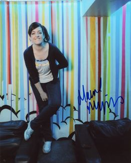 Maeve Higgins Signed 8x10 Photo