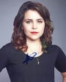 Mae Whitman Signed 8x10 Photo