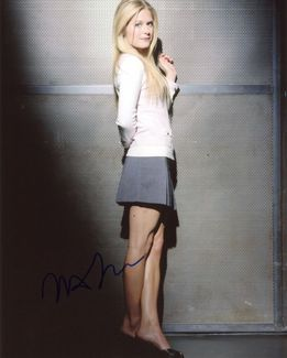Maggie Lawson Signed 8x10 Photo - Video Proof