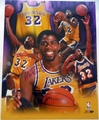 Magic Johnson Signed 11x14 Photo