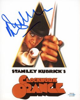 Malcolm McDowell Signed 8x10 Photo