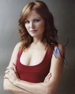Malin Akerman Signed 8x10 Photo