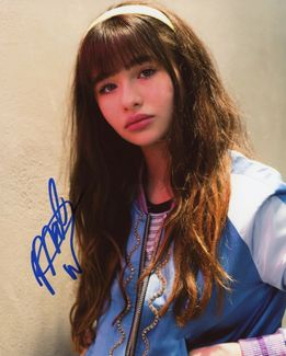 Malina Weissman Signed 8x10 Photo
