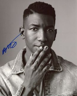 Mamoudou Athie Signed 8x10 Photo