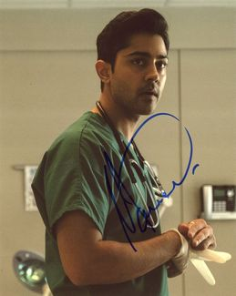 Manish Dayal Signed 8x10 Photo