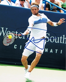 Mardy Fish Signed 8x10 Photo