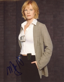 Marg Helgenberger Signed 8x10 Photo