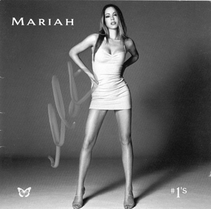 Mariah Carey Signed CD Booklet