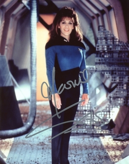 Marina Sirtis Signed 8x10 Photo