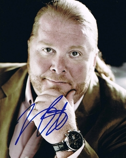 Mario Batali Signed 8x10 Photo - Video Proof