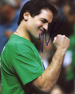 Mark Cuban Signed 8x10 Photo