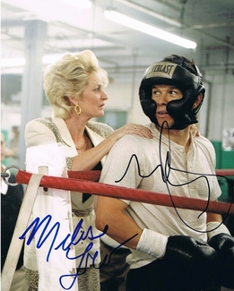 Mark Wahlberg & Melissa Leo Signed 8x10 Photo - Video Proof