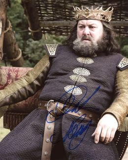 Mark Addy Signed 8x10 Photo