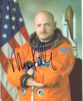 Mark Kelly Signed 8x10 Photo