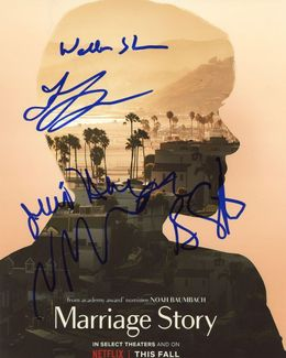 Marriage Story Signed 8x10 Photo - Video Proof