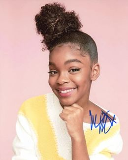 Marsai Martin Signed 8x10 Photo