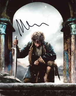 Martin Freeman Signed 8x10 Photo - Video Proof