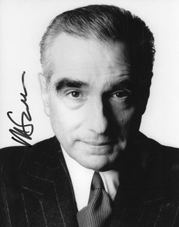 Martin Scorsese Signed 8x10 Photo