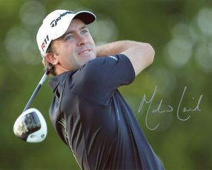 Martin Laird Signed 8x10 Photo