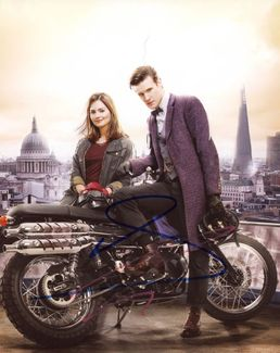 Matt Smith & Jenna Coleman Signed 8x10 Photo - Video Proof