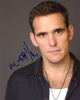 Matt Dillon Signed 8x10 Photo