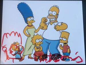 Matt Groening Signed 11x14 Photo - Video Proof
