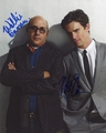 Matthew Bomer & Willie Garson Signed 8x10 Photo