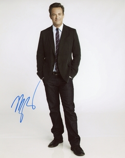 Matthew Perry Signed 8x10 Photo