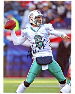 Matt Moore Signed 8x10 Photo