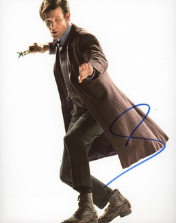 Matt Smith Signed 8x10 Photo