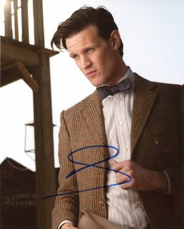 Matt Smith Signed 8x10 Photo - Video Proof
