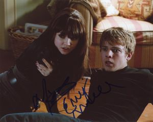 Max Thieriot & Emily Meade Signed 8x10 Photo