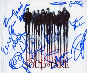 My Soul to Take Signed 8x10 Photo