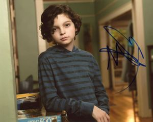 Max Burkholder Signed 8x10 Photo - Video Proof