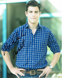Max Greenfield Signed 8x10 Photo