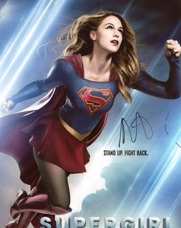 Melissa Benoist Signed 8x10 Photo
