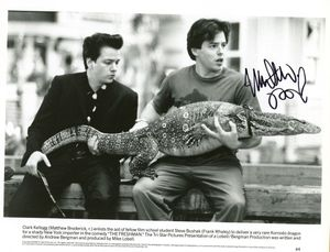 Matthew Broderick Signed 8x10 Photo