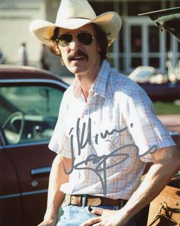 Matthew McConaughey Signed 8x10 Photo - Video Proof