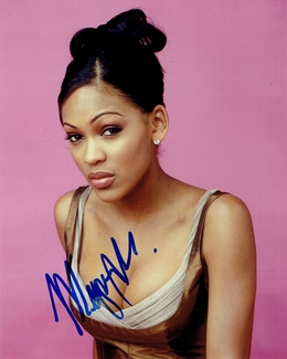 Meagan Good Signed 8x10 Photo