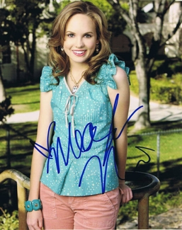 Meaghan Martin Signed 8x10 Photo - Video Proof