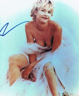 Meg Ryan Signed 8x10 Photo - Video Proof