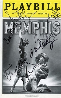 Memphis Signed Playbill