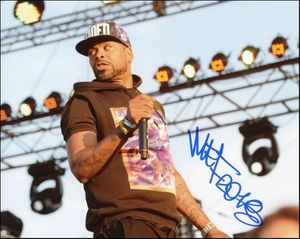Method Man Signed 8x10 Photo