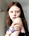 Mia Goth Signed 8x10 Photo - Video Proof