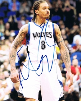 Michael Beasley Signed 8x10 Photo