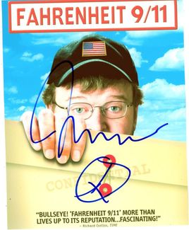 Michael Moore Signed 8x10 Photo - Video Proof