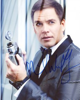 Michael Weatherly Signed 8x10 Photo