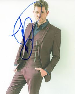 Michael Buble Signed 8x10 Photo