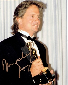 Michael Douglas Signed 8x10 Photo - Video Proof