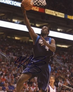 Michael Finley Signed 8x10 Photo